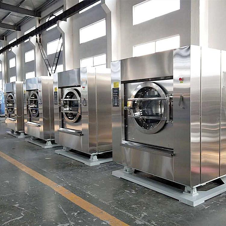 酒店宾馆床单水洗厂设备配置 SWA-120洗衣机烘干机