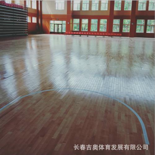 生产供应 羽毛球运动地板 柞木强化地板  欢迎订购