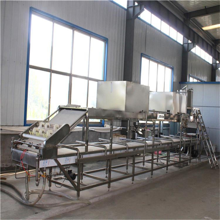 全自动腐竹机价格 大型腐竹机生产流水线 长形腐竹机