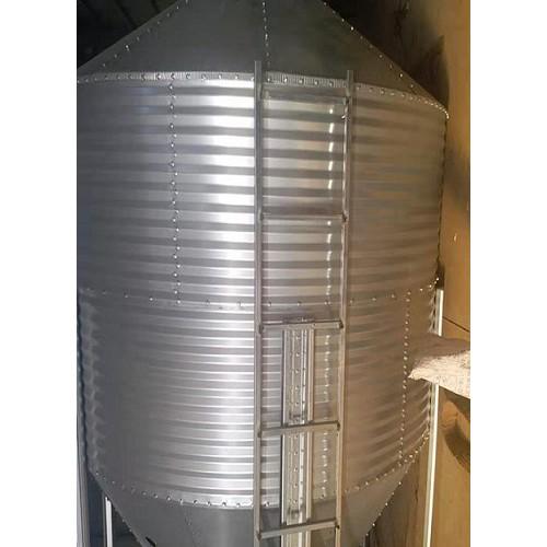 天津料塔哪里买「京金机械」镀锌自动化料塔规格多样