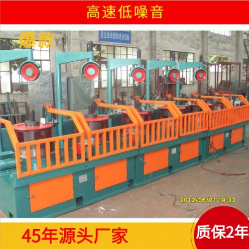 拔丝机厂家供应高速低噪音拉丝拔丝机批发定制钢筋拉丝拔丝机