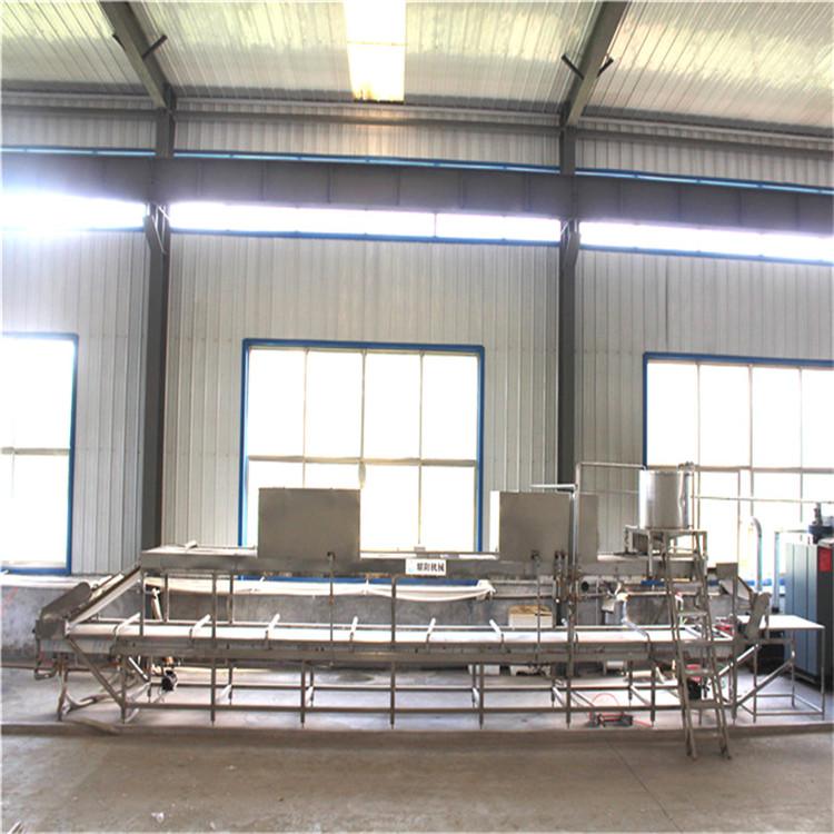 河南全自动腐竹机生产设备 大型腐竹机直销