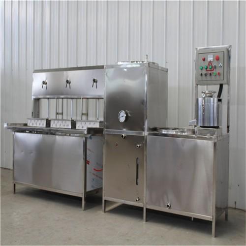 河南三盒豆腐机生产线 自动豆腐机供应 豆腐生产成本