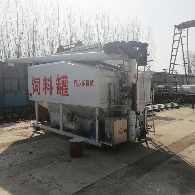 宁津永乐散装饲料运输罐YL-13c散装饲料罐厂家定做