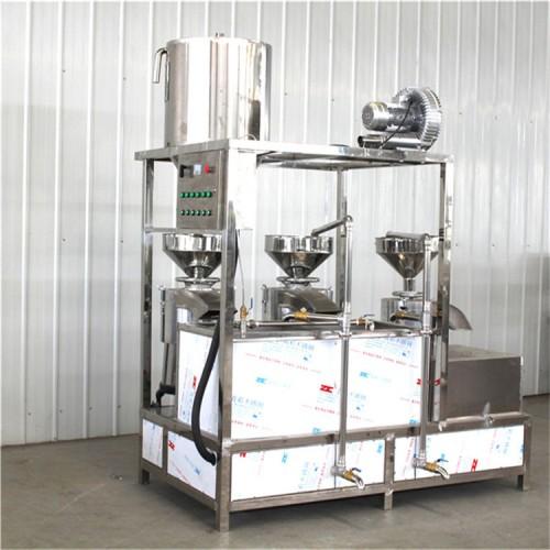 众诚牌大型三连磨浆机设备厂家直销欢迎选购