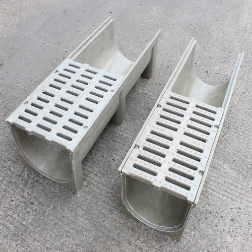 成品树脂排水沟-u型排水槽-树脂排水沟-线性排水沟厂家