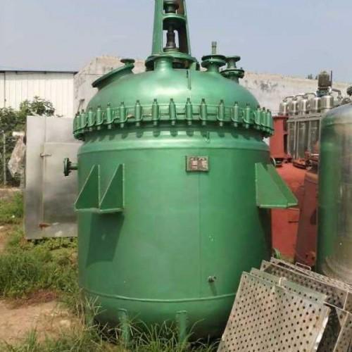 出售二手不锈钢反应釜 辰瑞 水热合成反应釜 电加热小型反应釜