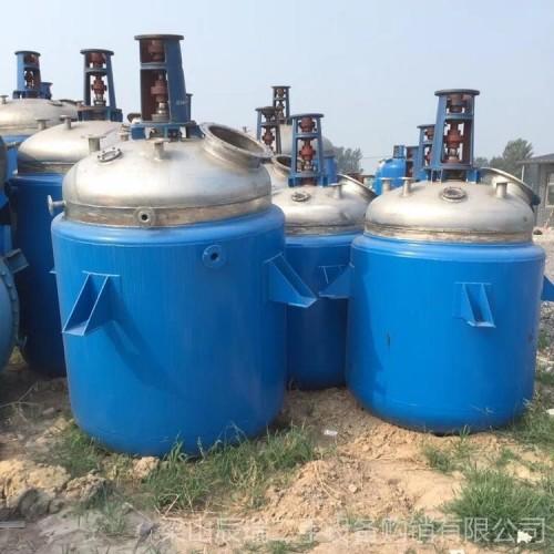 低价供应 辰瑞 二手5吨6.3吨搪瓷反应釜 电加热反应釜