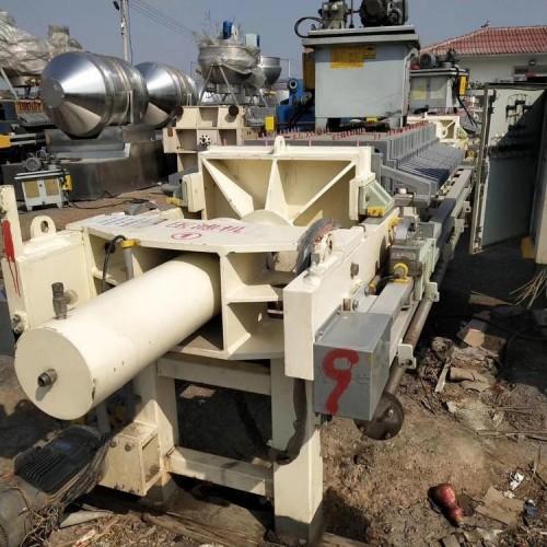 二手全自动小型厢式压滤 钛白粉压滤机 淀粉污泥带式压滤机