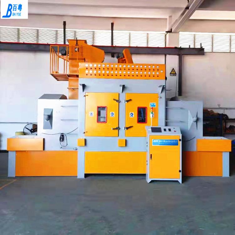 铝型材自动喷砂机供应 铝模板通过式自动喷砂机价格