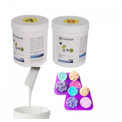 糖艺模具硅胶 液体硅胶 糖艺硅胶