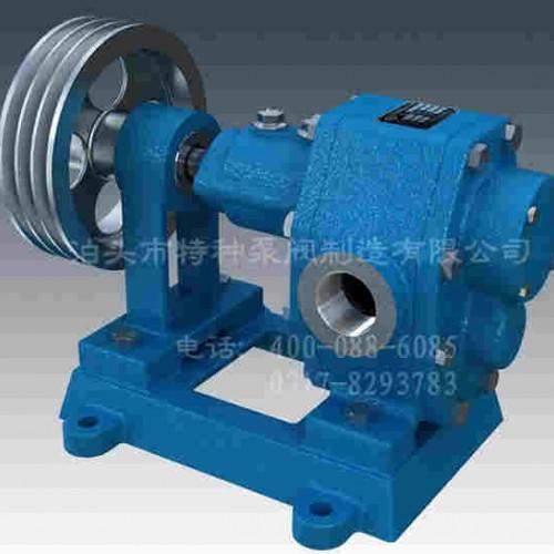 青海油泵订做~泊头特种泵~厂家直营CYB系列稠油齿轮泵