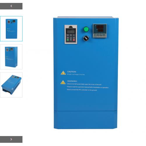 恒新源专业供应30~80kW全桥挂式水冷带温控电磁加热器