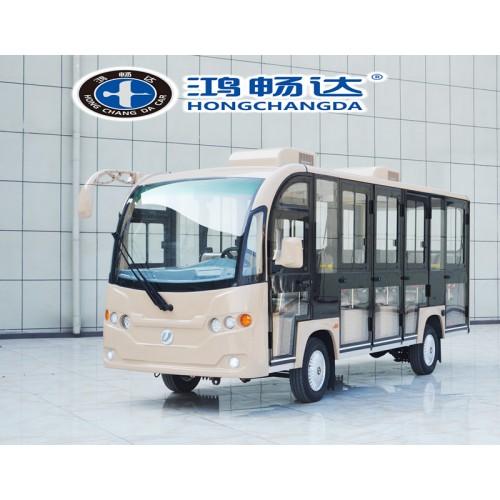 广东鸿畅达 全封闭电动观光车  锂电可选 全新上市