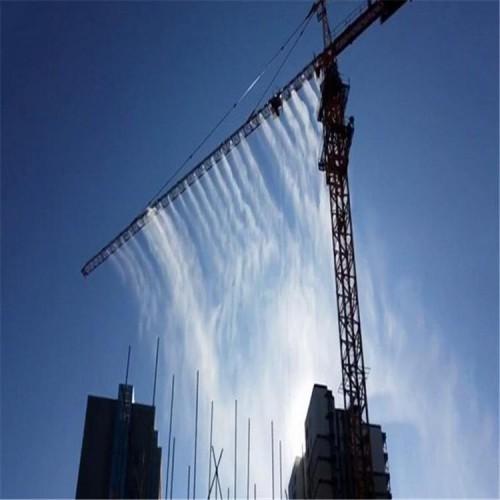 工地降温除尘塔吊喷淋系统