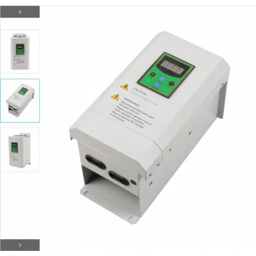 恒新源380V 10~12kW半桥挂式电磁加热器