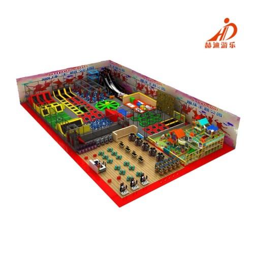 室内蹦床公园 儿童蹦床乐园 大型蹦床游乐设备 蹦床厂家