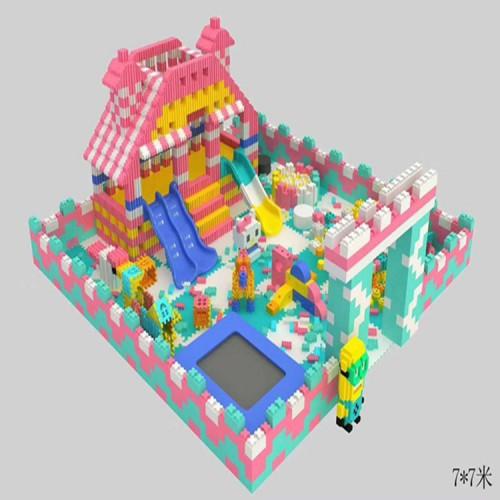 大型游乐设备积木王国乐园 环保epp积木 儿童积木乐园