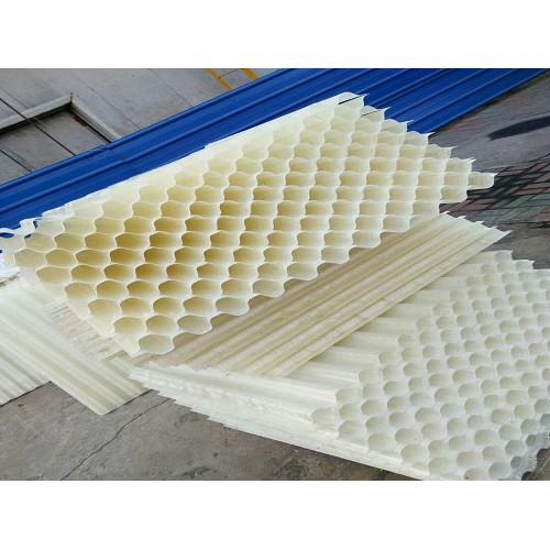 超威净水材料专业供应玻璃钢斜管填料