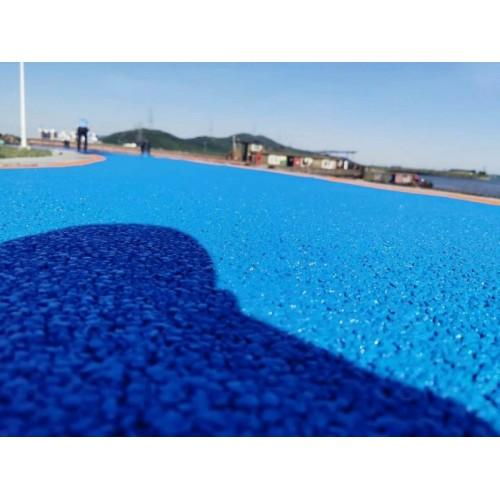 透水混凝土-彩色透水混凝土-露骨料透水混凝土-透水艺术地面-