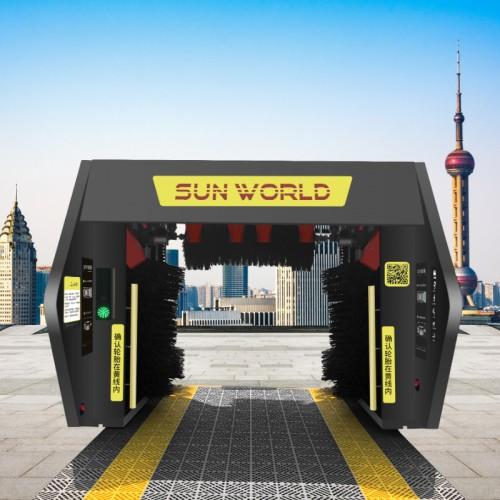 上海双沃全自动洗车机大型商用无人自助清洗设备