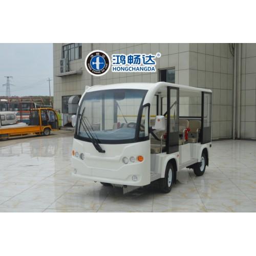 纯电动观光车 新电动观光车 广东鸿畅达