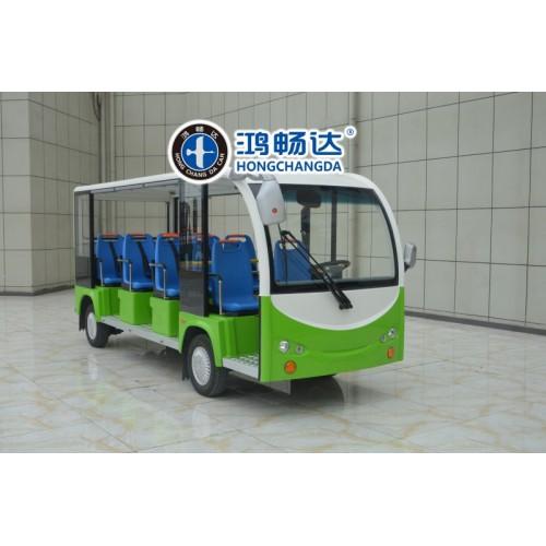 11座电动观光车 观光电动车 旅游观光车 广东鸿畅达