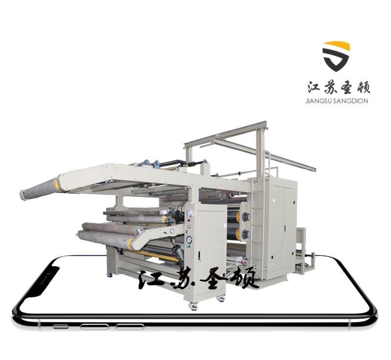热熔胶复合机 无纺布PEFT膜复合机 防护服面贴贴合机