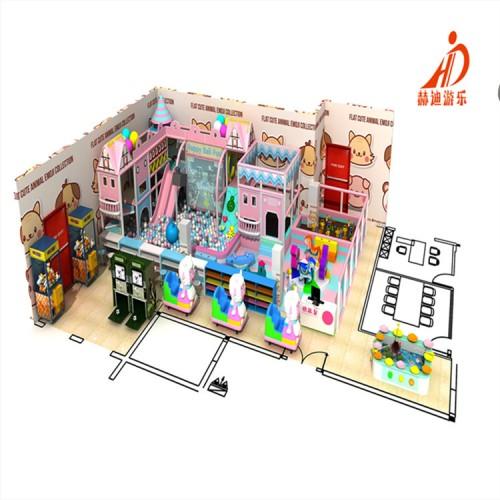 淘气堡儿童乐园 室内淘气堡 商场超市儿童游乐场设备