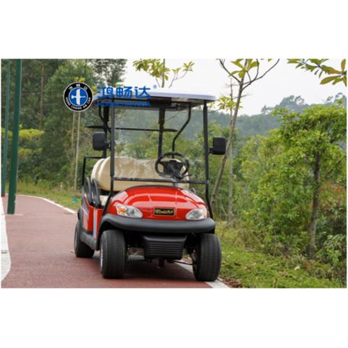 4座高尔夫观光车-内蒙鸿畅达 十大电动车品牌