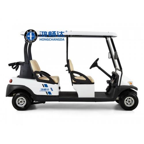 高尔夫球车 电动看楼车 内蒙鸿畅达厂家供应