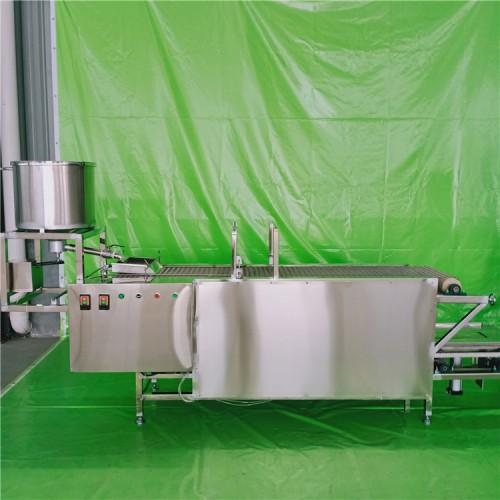 仿手工豆腐皮机 全自动豆腐皮机器调试过程