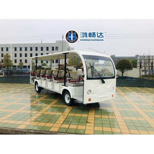 观光电动车 23座电动观光车 广东鸿畅达 电动车十大品牌