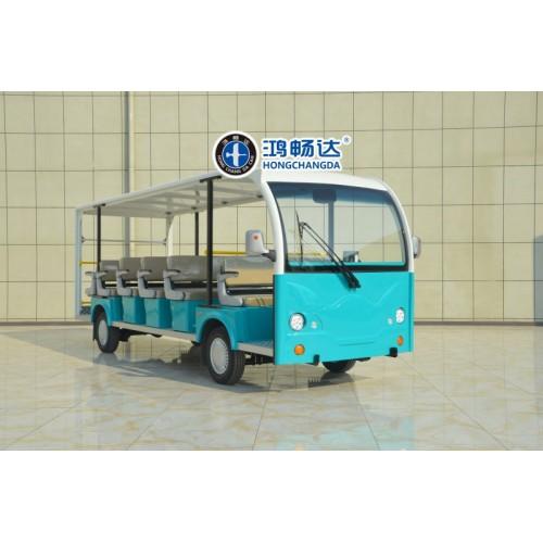广东鸿畅达 电动观光车 纯电动观光车 十大电动车品牌之一