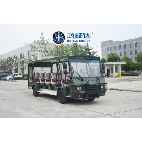 旅游电动观光车 观光车十大品牌 广东鸿畅达