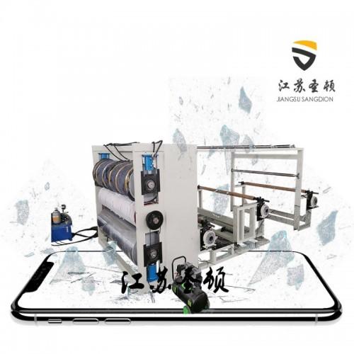 热复合机 无纺布防水透气膜复合机 热风加热 圣顿机械