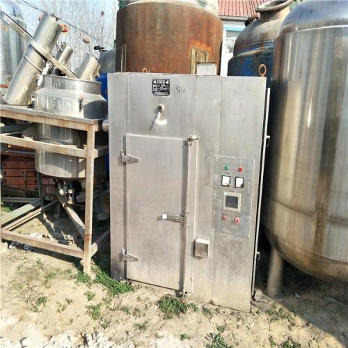 电加热热风循环烘箱两门四车96盘烘箱48盘真空干燥箱