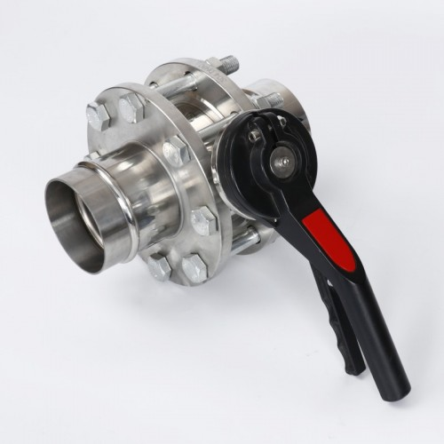 不锈钢凸槽卡箍管道安装案例