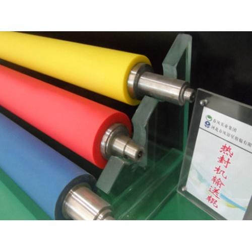 春风银星:硅橡胶胶辊胶辊加工厂批发丁晴胶胶辊