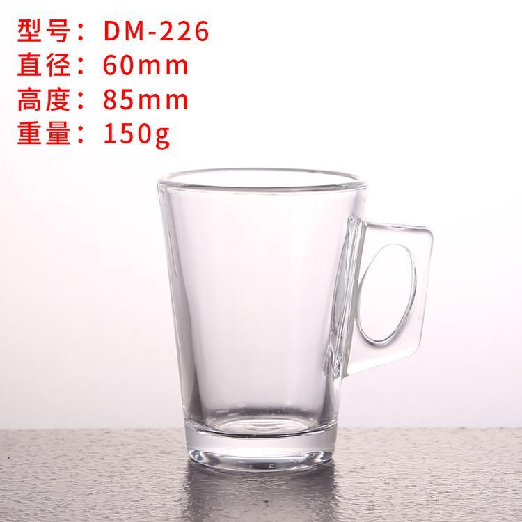八角玻璃杯水杯 耐高温玻璃水杯 厂家直销