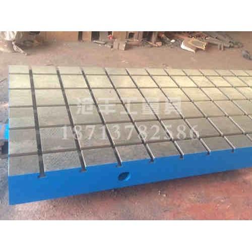 福建铸铁焊接平台加工沧丰量具-厂家加工-供应T型槽平板