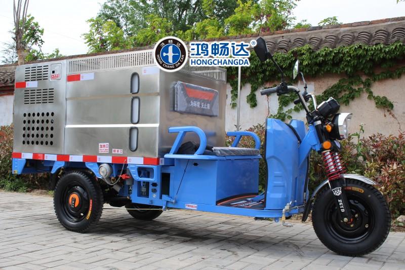 电动环卫设备 电动保洁车 电动高压冲洗车 广东鸿畅达