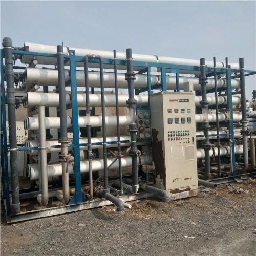 低价转让大型RO软化水设备 每小时60吨80吨100吨15吨