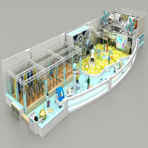 室内亲子乐园 新型淘气堡 儿童乐园游乐设备 淘气堡乐园