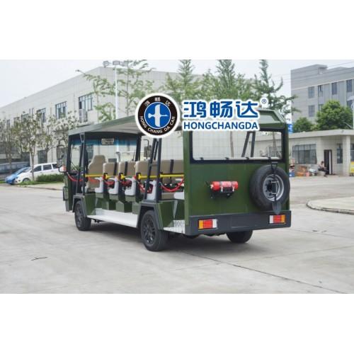 威龙系列23座电动观光车上市了 广东鸿畅达