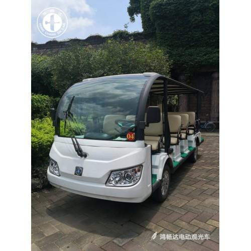 电动观光车 安全平稳 舒适宽敞 鸿畅达 十大电动车品牌