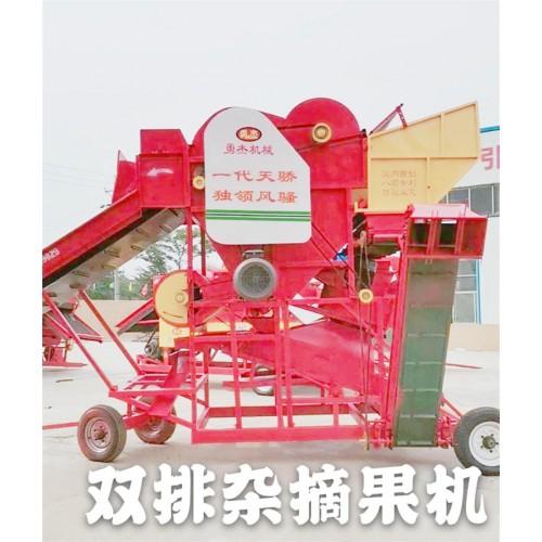 大型花生摘果机厂家 花生摘果机价格 勇杰机械