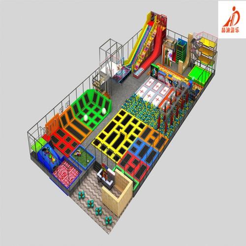 大型蹦床游乐设施 室内蹦床 淘气堡 主题蹦床公园 儿童乐园