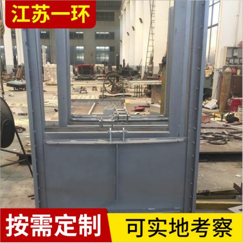 叠梁止水闸门 启闭机闸门 污水处理闸门 PZM型不锈钢闸门