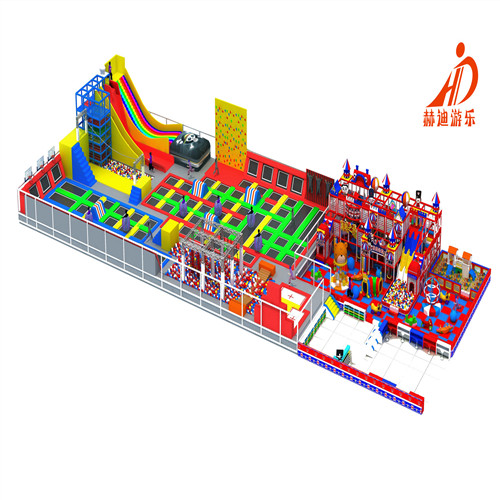 儿童乐园 室内淘气堡 儿童游乐设备 淘气堡乐园 蹦床公园